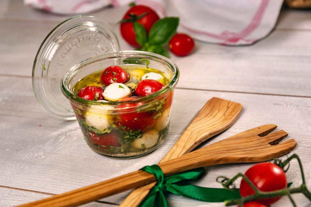 Tomate-Mozzarella im Glas_rezept von Landgemachtes