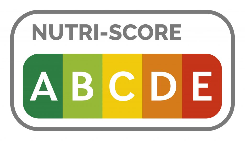 Nutriscore Abbildung A bis E