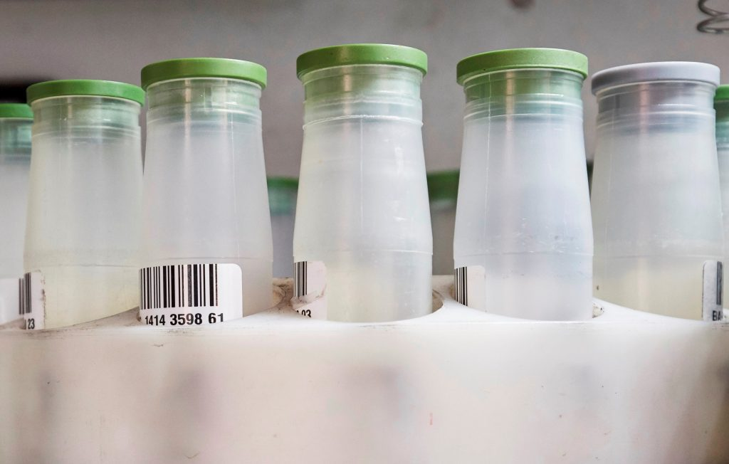 Milchmonitoring: Untersuchung auf Perfluoroctansulfonsäure (PFOS) und PFOA werden mit aufgenommen. Foto: ©Marco Grundt