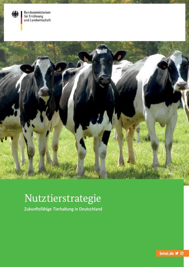 Buch-Cover Nutztierstrategie vom BMEL