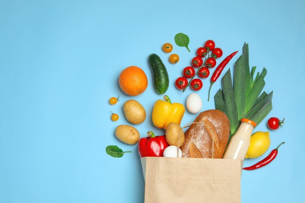 Lebensmittel einkauf