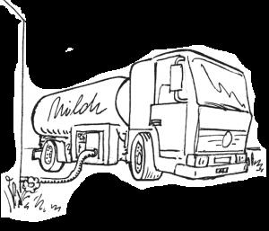 Milchsammelwagen