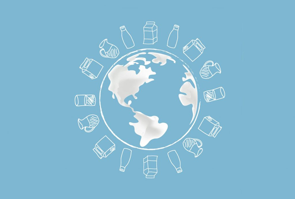 Weltkugel, Milch, Milchpreise, global, weltweit