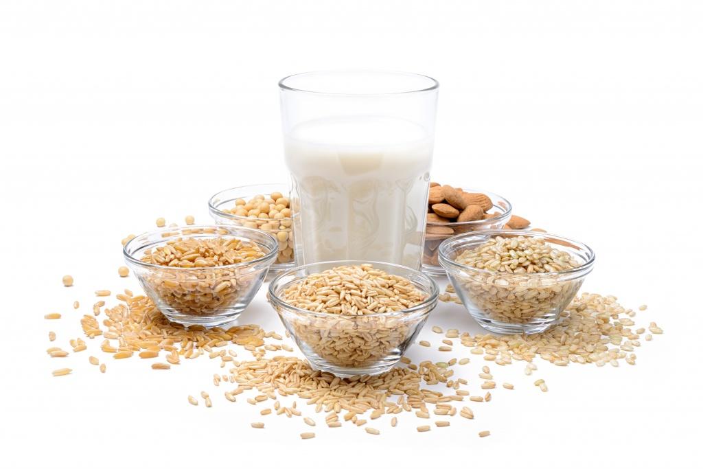 Pflanzliche Ersatzprodukte der Milch