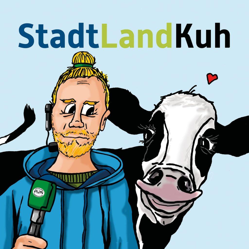 Cover Podcast StadtLandKuh