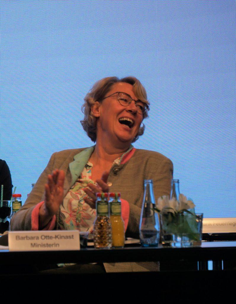 Barbara Otte-Kinast auf der LVN-Mitgliederversammlung