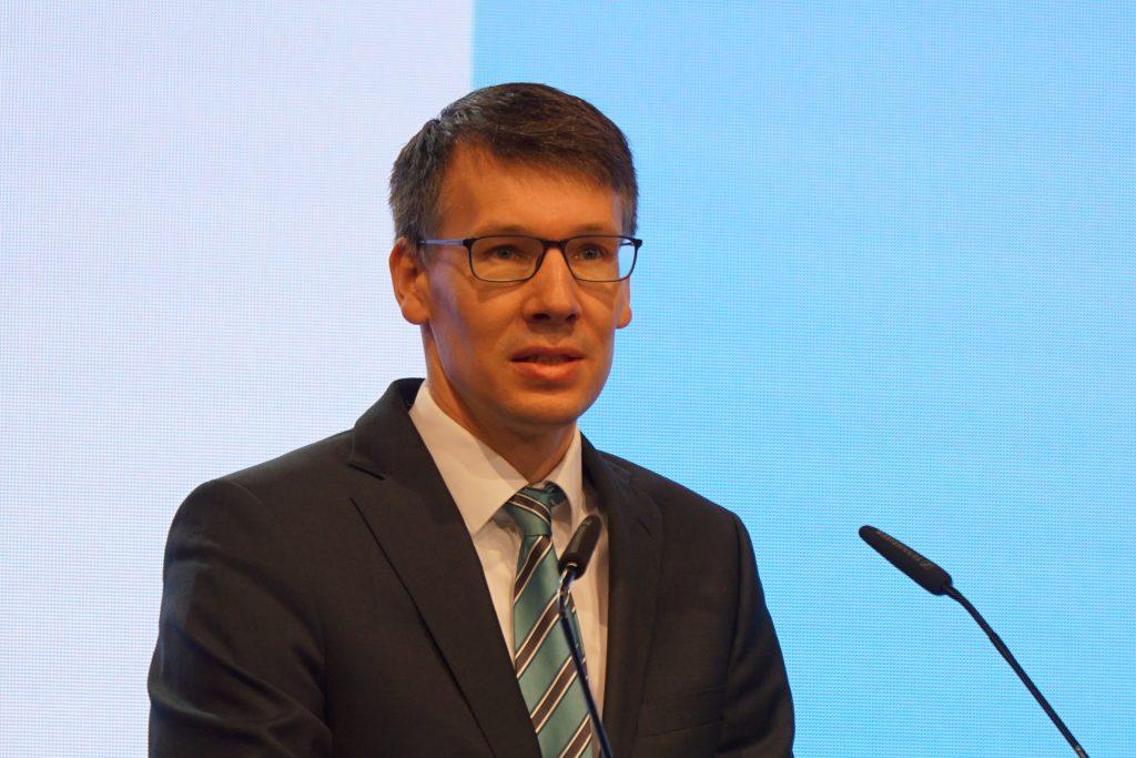 Torben Lange auf der LVN-Mitgliederversammlung