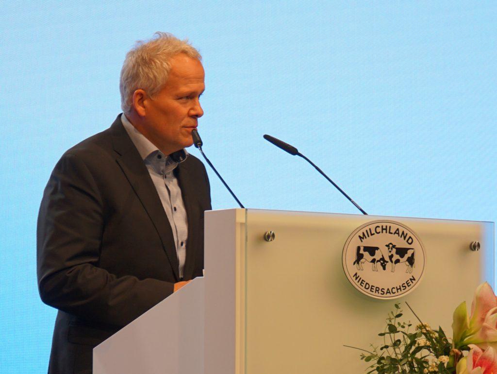 Fred Akenberg auf der LVN-Mitgliederversammlung