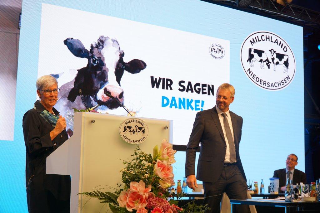 Kristine Kindler, Jan Heusmann und Frank Feuerriegel auf der LVN-Mitgliederversammlung