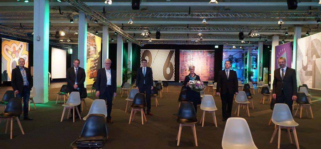 Vorstand, Geschäftsführung und Referenten auf der LVN-Mitgliederversammlung