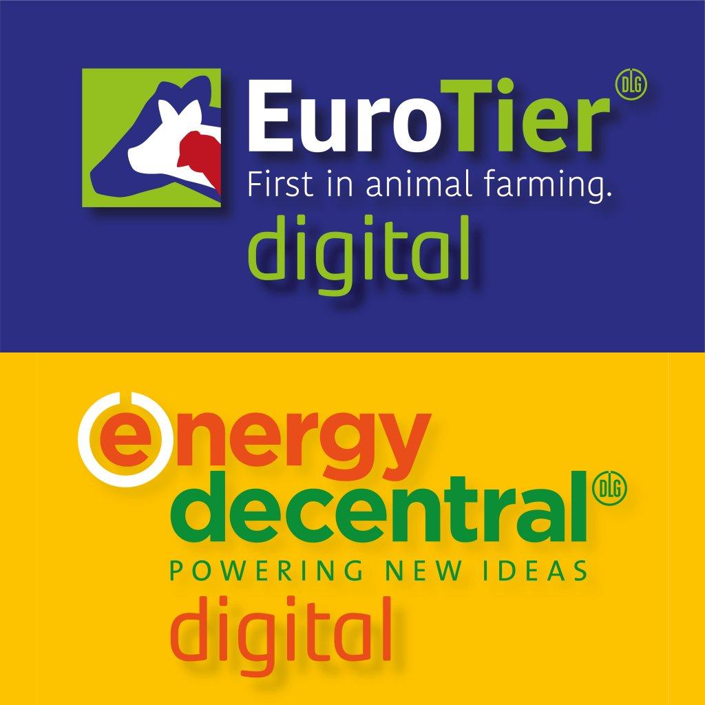 EuroTier und EnergyDecentral digital