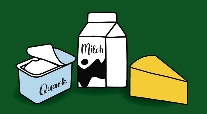 Sucht die versteckten Milchprodukte im Rundgang und gewinnt tolle Preise!