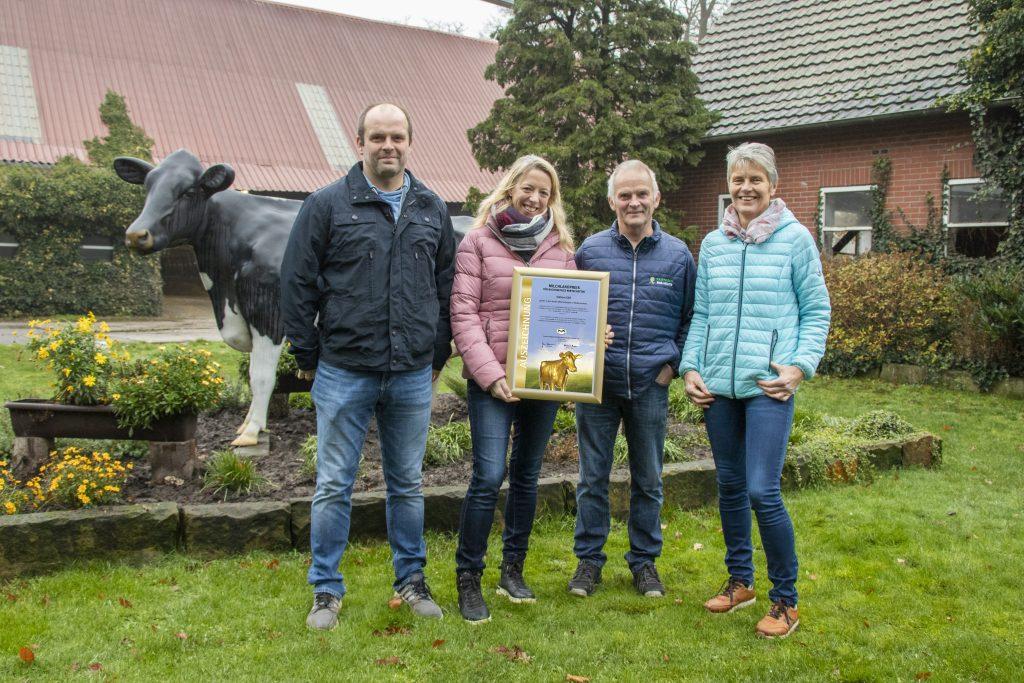 Familie Kethorn TOP 10 Milchlandpreis 2020