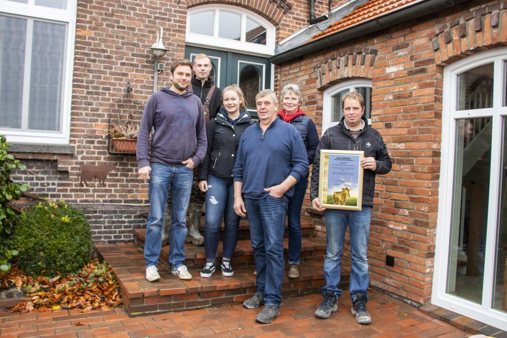Familie Lindena TOP 10 Milchlandpreis 2020