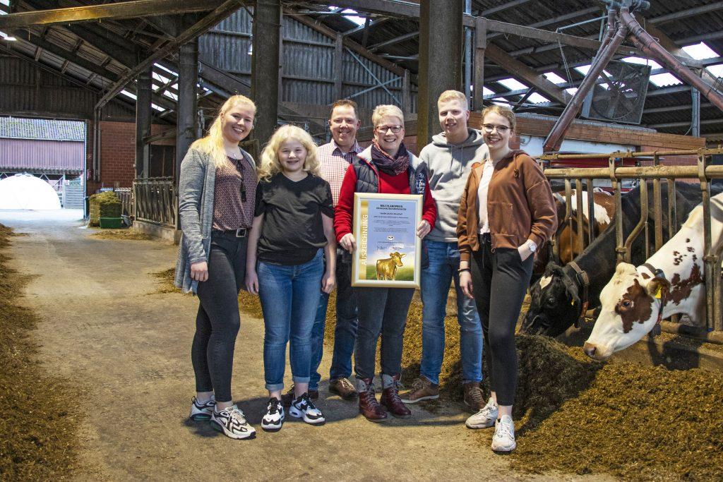 Familie Lüschen-Strudthoff TOP 10 Milchlandpreis 2020