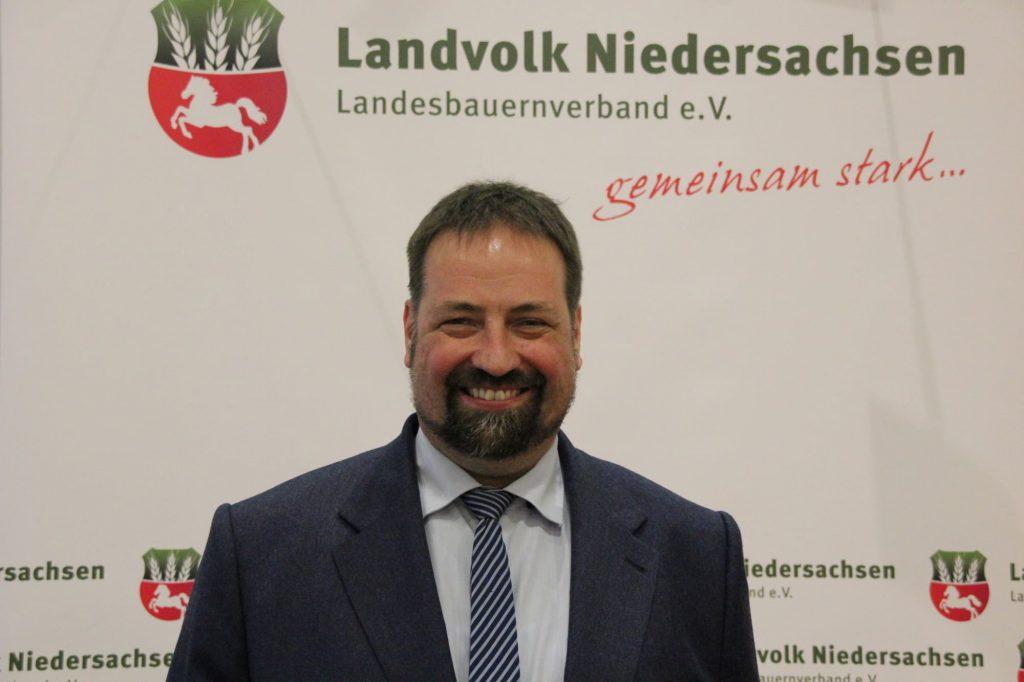 Neuer Landvolkspräsident Niedersachsen Dr. Holger Hennies