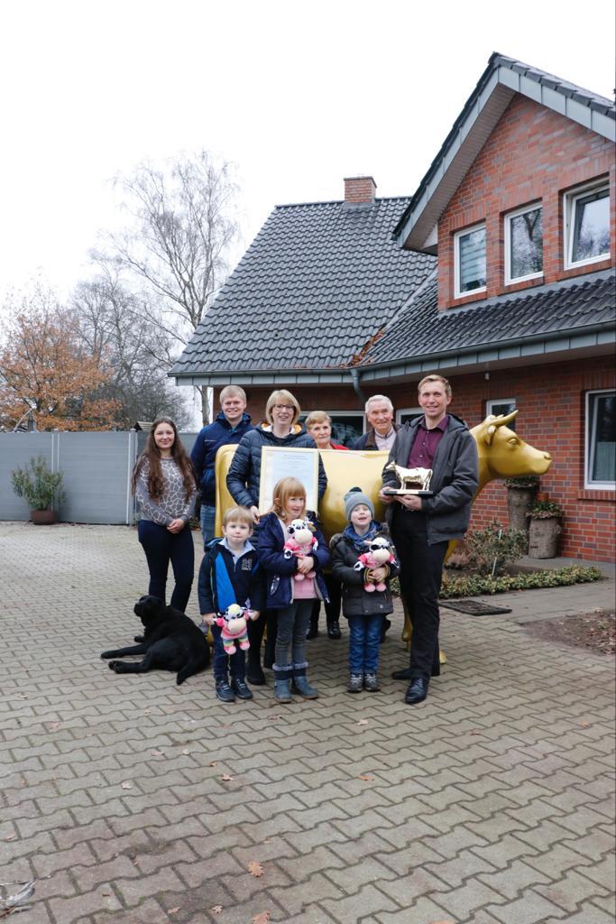 Familie Börger mit Goldener Olga