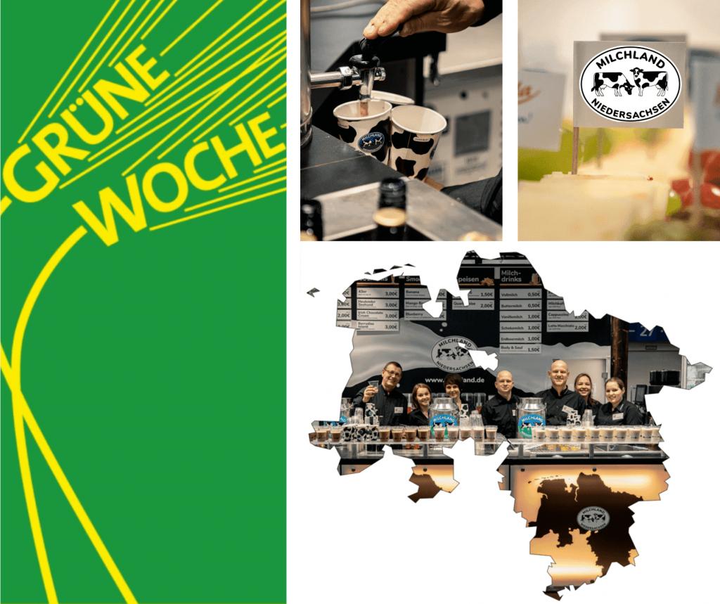 Grüne Woche digital Collage