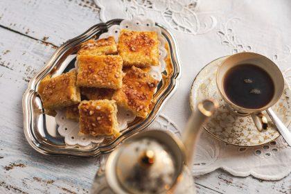 Serviervorschlag Keks zum Kaffee