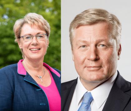Ministerin Barbara Otte-Kinast und Minister Dr. Bernd Althusmann