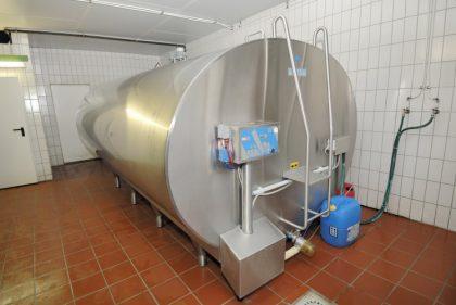 Milchtank für Rohmilch