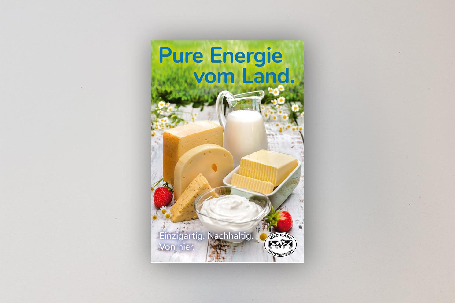 Spannplakat Energie