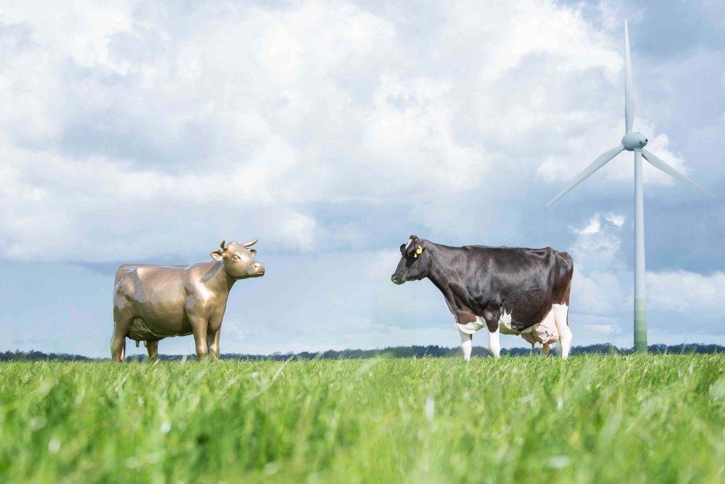 Milchlandpreis 2021 Goldene Olga im Feld