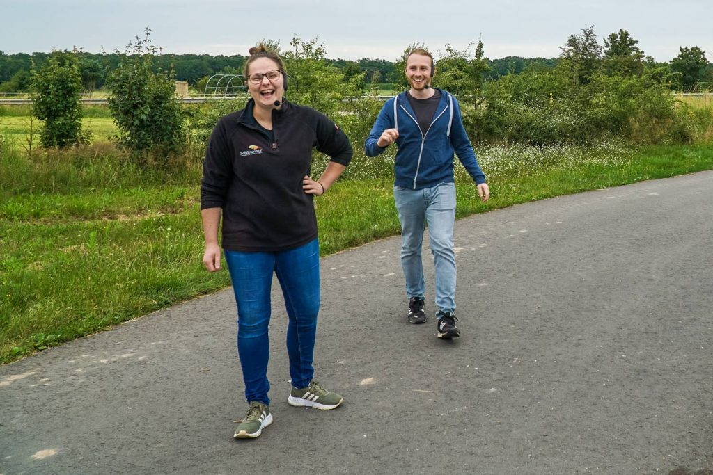 Podcast StadtLandKuh Timo und Louisa
