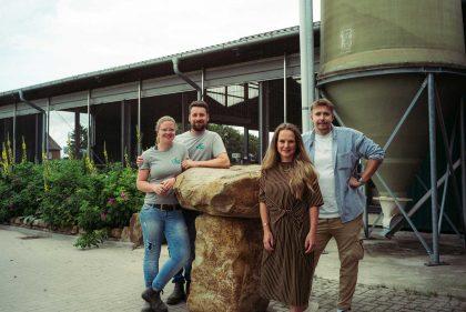 Influencer David Friedrich mit Henriette und Kai