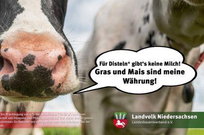Postkarten-Aktion des Landvolk Niedersachsen
