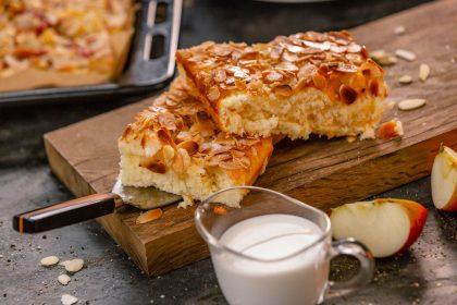 Serviervorschlag Buttermilchkuchen